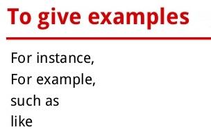 詞彙區別] for example,such as,like,namely 的區別– Eric's